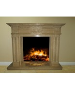Marble Fireplace Surround Mantel Family Great Room 57x47x17  FPS-21 - $2,898.00