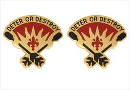 Genuine U.S. Army Crest: 45TH Air Defense Artillery Brigade (Deter Or Destroy) - $18.79