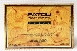 Jean Patou Pour Homme PRIVE (4oz/120ml)After Shave Balm (See Details) - $18.70