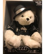"""2000 Millennium Happy New Year Talking 20"""" Bear Sold by KMART( Untested) - $18.70"""