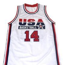 Alonzo Mourning #14 Team USA Basketball Jersey White Any Size image 1