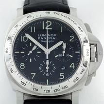Panerai Luminor Daylight Chronograph Men's Stainless Steel Watch OP 6637 - $6,237.00