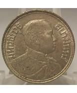 Y #43 1915 Thailand AU/UNC Silver 1 Salung (1/4 THB) Rama VI RARE #0007 - $39.99