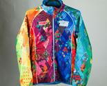 Sochi 2014 Paralympic Games Volunteers Sweatshirt Zipper Jacket Warm Unisex XS S