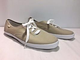 NEW KEDS Women's Tan Canvas Sneaker Tennis Shoes Size 11M - $26.95