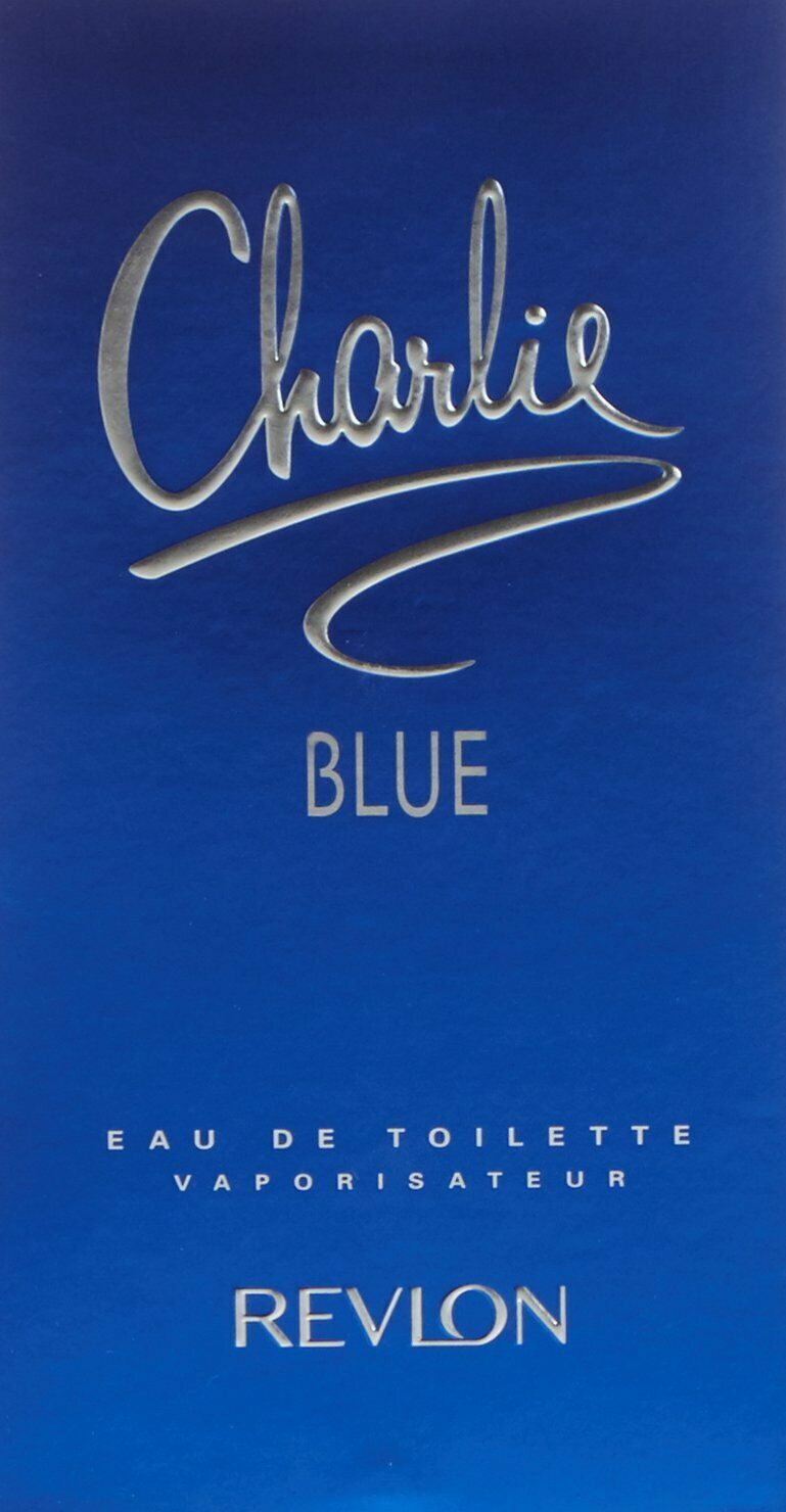 Revlon Charlie Blue EDT, PERFUME  100ml PACK image 6