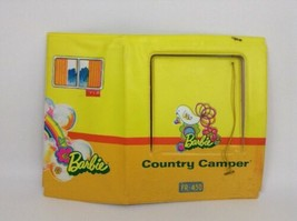 Barbie Country Camper Soft Back Wall Vintage 1970 Replacement Mattel - $11.83
