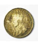 1918 Canada 25 Twenty Five Cents Silver Coin KM# 24 - ₹1,803.39 INR