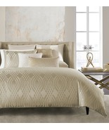 Hotel Collection Dimensions Champagne 2-PC King Comforter and Beaded Tos... - $205.00