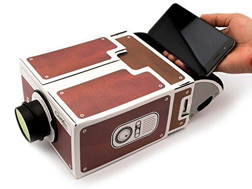 Primary image for Yorkshire Portable DIY Cardboard Smart Phone Projector, Smartphone Cinema in A B