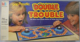 Milton Bradley PopOMatic Double Trouble Game 100% COMPLETE 1987 - $23.75