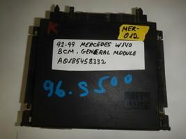 92-99 MERCEDES W140  BODY CONTROL MODULE BCM ( A0185458332  (MER-012) - $7.87