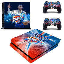 PS4 Console Controller Skin OKC Thunder Russell NBA VInyl Decals Covers ... - $13.00