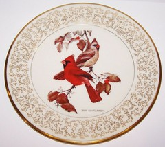 Stunning Gorham Fine China Limited Edition Don Whitlatch October Cardinals Plate - $25.24