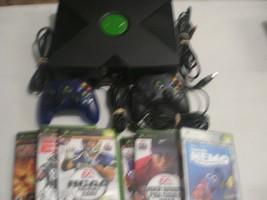 Original XBOX Microsoft Arcade System Console w/ 2 controllers - $37.36