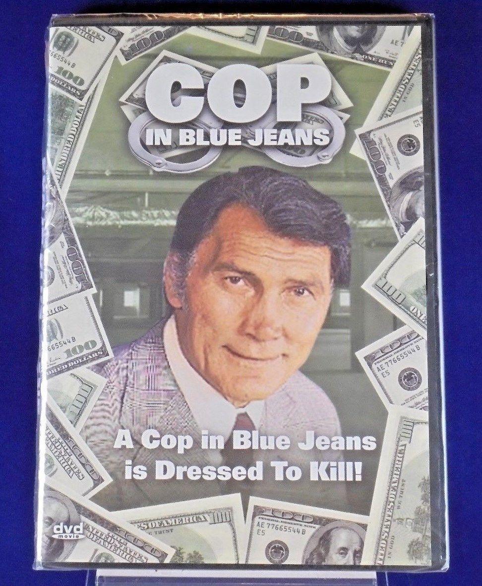 Cop In Blue Jeans DVD 1975 Jack Palance Maria Rosaria Omaggio Bruno Corbucci NEW