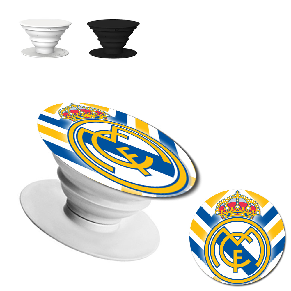 Real Madrid Pop up Phone Holder Expanding Stand Grip Mount popsocket #3