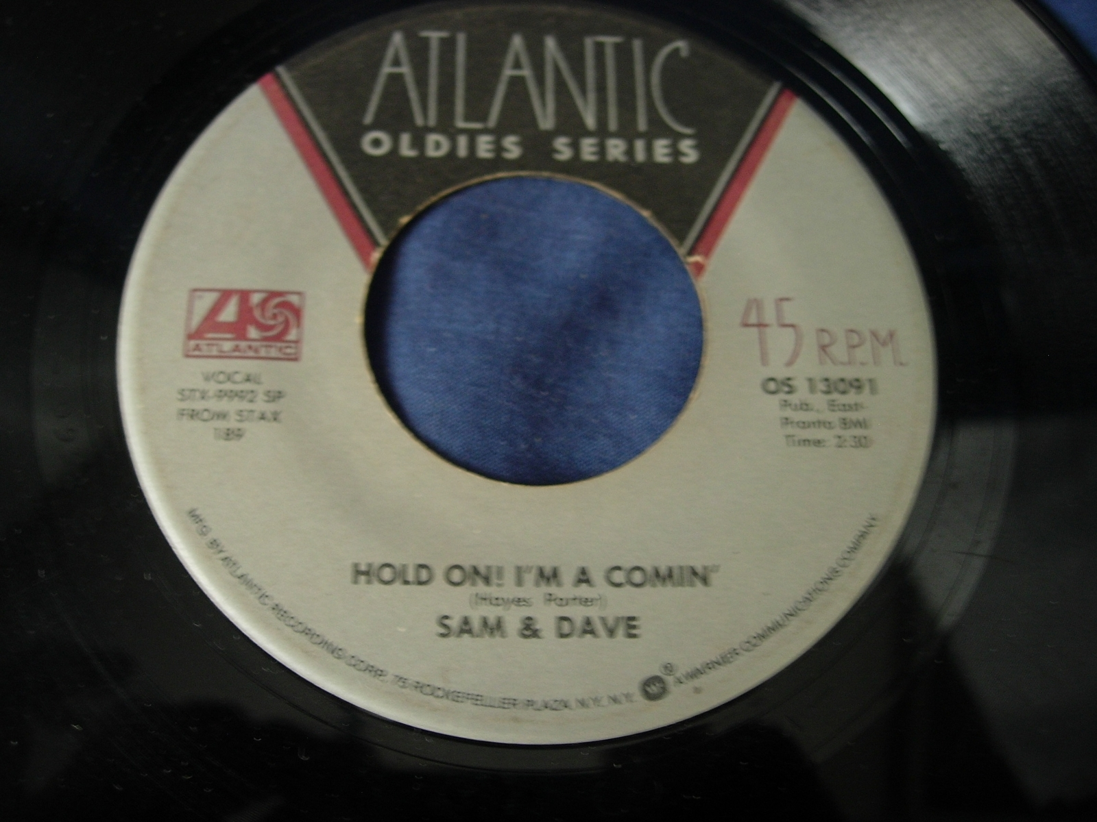 Sam & Dave - Hold On! I'm Comin / I Thank You - Atlantic Oldies Series OS 13091