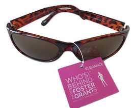 Ladies Foster Grant 'Creative I' 100% UVA-UVB Protection Sunglasses MSRP $34.00  - $8.99