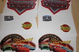 8 large Cars Movie Stickers - $4.95