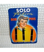 SOLO FASHION BOB PINS (BOBBY PINS)  EXC. COND. MADE IN CANADA~TEMPERED S... - $9.85