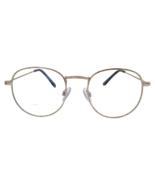 Charli - Blue Light Blocking Glasses - Trendy Round Frame - Unisex - Gold - $18.99+