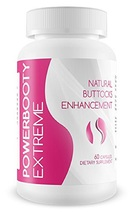 Power Booty Extreme Natural Female Buttocks Enhancement Supplement 60 Ca... - $102.58