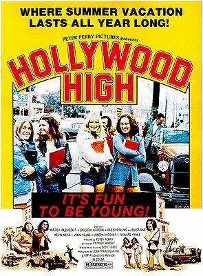 Primary image for Hollywood High - 1976 - Movie Poster
