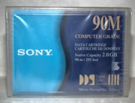 SONY - 90M 2.0GB Computer Grade Data Cartridge DG90M (New) - $15.00