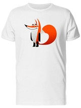Red Fox Cartoon, Cute Men's Tee -Image by Shutterstock - $311,55 MXN+