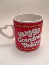 "Hug A Grandma Mug / Cup ""Hugga Grandma Today"" Vintage Enesco 1986 - $7.84"