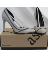 NEW Beau+Ashe Bambi Grey Classic Pump Zipper Look US Size 9 - $31.25