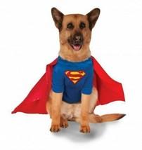 Big Dogs Superman XXL Pet Costume Large Dog 2X Rubies Pet Shop - £24.90 GBP