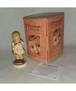 1999 M I Hummel Club 1382 Pigtails Hum 2052 Germany Goebel Boxed Holding... - $15.99