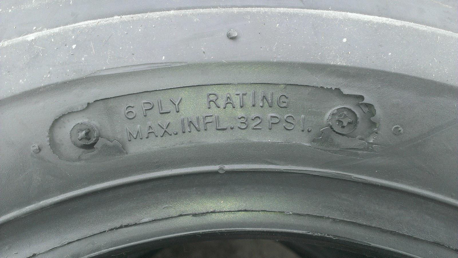2-23X9.50-12 Deestone 4P Super Lug Tires FREE SHIPPING 23x9.5-12