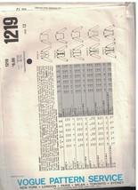 1219 Vogue Nähen Muster Misses Jacke Basic Design 1980s 12 Elegant Karriere Oop image 2