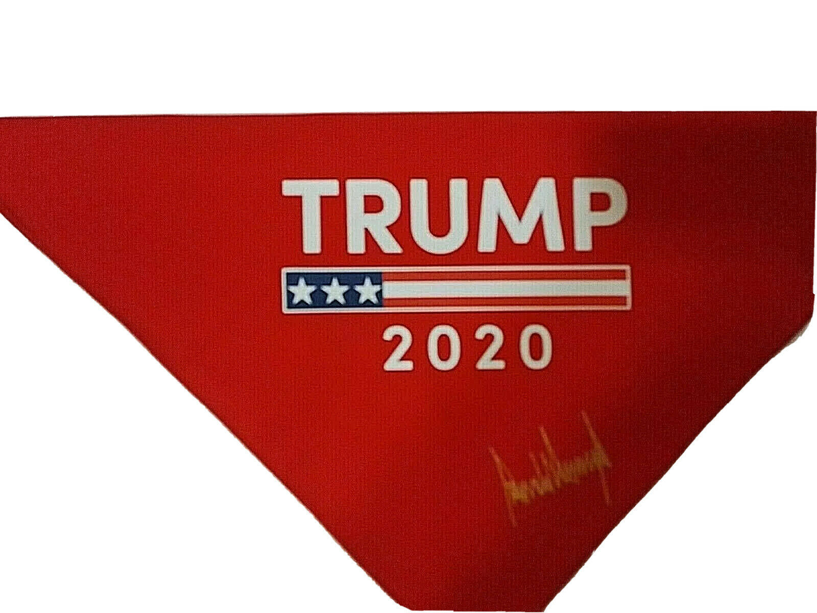 Primary image for Buy1 Get1 Free Trump 2020 Face Mask Bandana MAGA Keep America Great Red Bandana