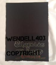 "Original 8x10"" Oil Pastel Gilbert Magu Lujan 1999 Drawing Art on Board image 3"