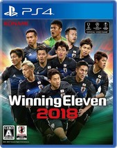 PS4 Winning Eleven 2018 PlayStation 4 Japanese Game Japan - $42.38