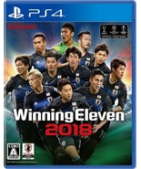 PS4 Winning Eleven 2018 PlayStation 4 Japanese Game Japan - £34.21 GBP