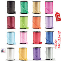 Lot of 12 NEW Roll Curling Ribbon Spool Balloon String 1500 Foot WHOLESALE - $59.80