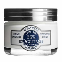 L'Occitane Ultra-Rich 25% Shea Butter Face Cream for Dry to Very Dry Ski... - $43.92