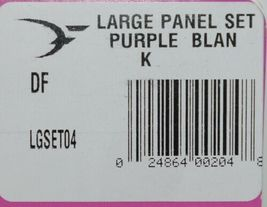 Destron Fearing DuFlex Visual ID Livestock Panel Tags Purple Blank Large 25 Sets image 7
