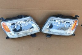 06-08 Suzuki Grand Vitara Halogen Headlight Light Lamp Matching Set L&R POLISHED image 1