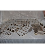 77 Pc Set Vintage Reed & Barton Sterling Silver Flatware Classic Rose NICE - $3,465.00