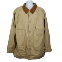 John Wayne Signature Western Style Stockade Canvas Rancher Jacket Sz XXL - $237.59