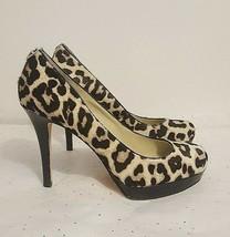 MICHAEL Michael Kors Women' Leopard Calf Hair Pump Stiletto's Size 8M - $64.35