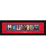 University of Houston Cougars Officially Licensed Framed Campus Letter Art - $39.95