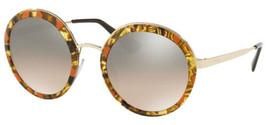 Prada Round Women's Vintage Oversize Sunglasses w/ Grad Flash Lens PR50TS KJN4P0 - $149.99