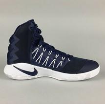New Men's Nike Hyperdunk 2016 Basketball Shoe Size 11.5 Blue White 856483-442 image 2
